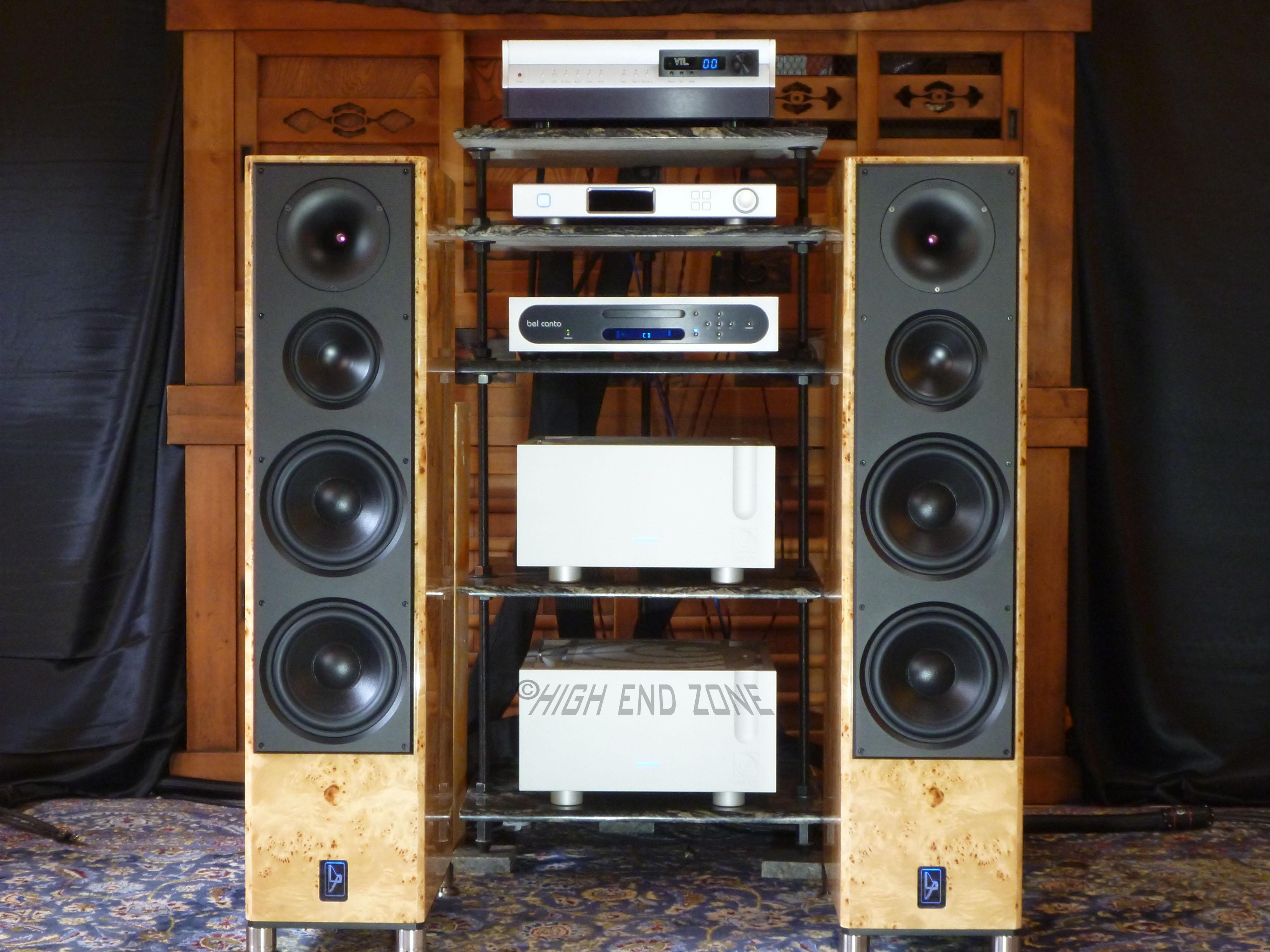 lansche audio no 5 1 maple wood with upgraded ypsilon